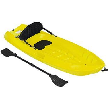 Kids Kayak with Paddle and Backrest