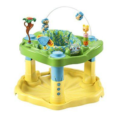Zoo Friends Exersaucer Bounce & Learn by Evenflo