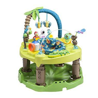 Life in the Amazon Exersaucer Triple Fun Active Learning Center by Evenflo