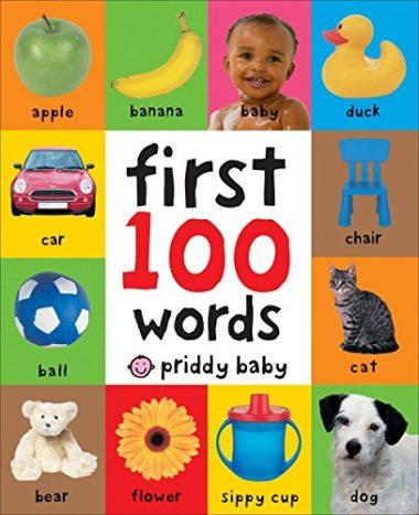 First 100 Words Board Book by Roger Priddy
