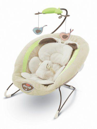 My Little Snugabunny Deluxe Bouncer by Fisher-Price