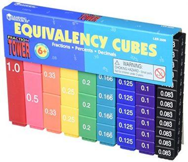 Fraction Tower Activity Set by Learning Resources