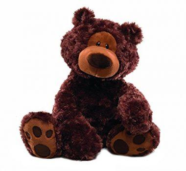 GUND Philbin Chocolate Teddy Bear Stuffed Animal