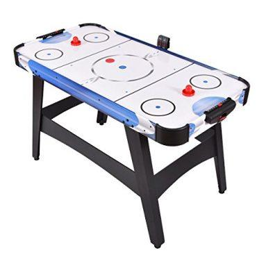 54 inch Air Powered Hockey Table Indoor Sports Game with Electronic Scoring by Goplus
