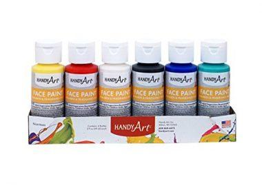 Tempera Primary Face Paint Kit by Handy Art