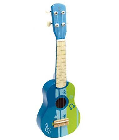 Early Melodies Ukulele Wooden Instrument for Kids by Hape