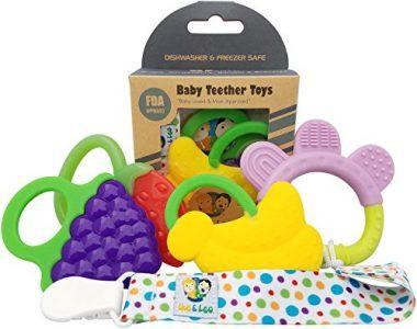 Baby Teether Toys by Ike & Leo