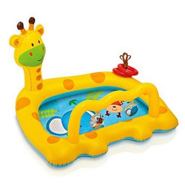 Smiley Giraffe Inflatable Baby Pool