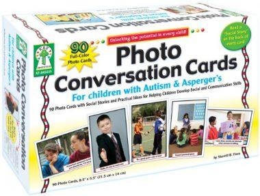 Photo Conversation Cards for Children with Autism and Asperger's by Key Education
