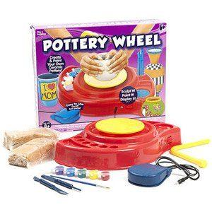 Kids Craft Pottery Wheel Kit by Smile 'n Save