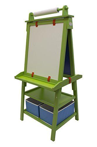 Little Partners 2-Sided A-Frame Art Easel with Chalk Board