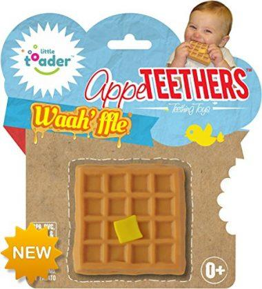 Waah'ffle Appe-Teethers by Little Toader