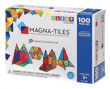 Magna-Tiles Clear Colors by Valtech Company