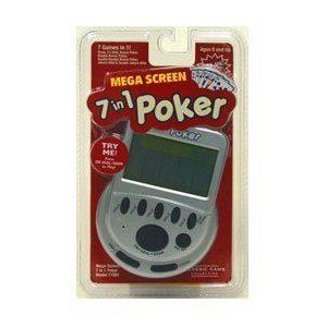 Mega Screen 7 in 1 Poker Game