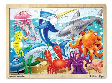 24-Piece Under the Sea Jigsaw Puzzle by Melissa & Doug