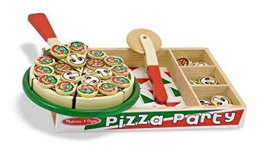 Wooden Pizza Party by Melissa & Doug