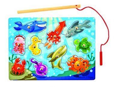 Deluxe Magnetic Fishing Game by Melissa & Doug