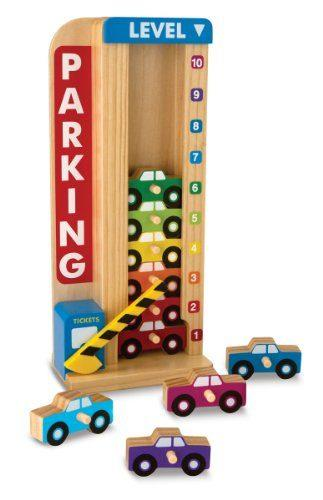 Stack & Count Parking Garage by Melissa & Doug