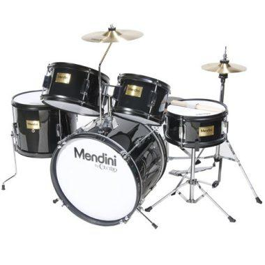 Mendini by Cecilio 16 inch 5-Piece Complete Kids / Junior Drum Set with Adjustable Throne, Cymbal, Pedal & Drumsticks