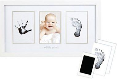 Babyprints Handprint and Footprint Photo Frame by Pearhead