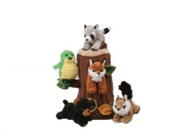 Plush Treehouse with Animals