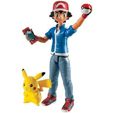 Pokemon Hero Figure Ash and Pikachu by TOMY