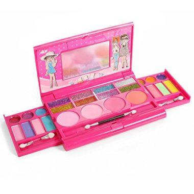 Princess Girl's All in One Deluxe Makeup Palette with Mirror by IQ Toys