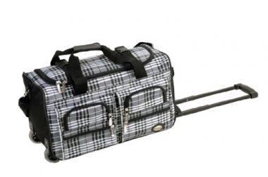 Rockland Luggage 22 Inch Rolling Duffle Bag by Rockland