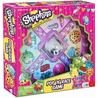 Pop 'N' Race Classic Game with Shopkins Theme by Moose Toys