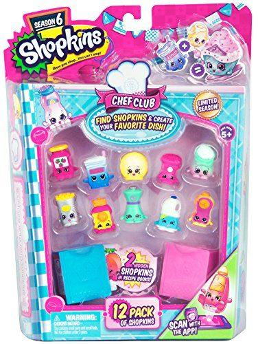 Season 6 Chef Club 12-Pack by Moose Toys