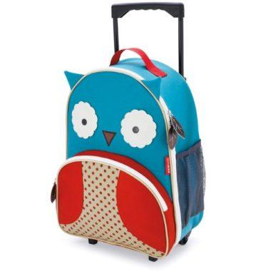 Zoo Rolling Luggage Backpack