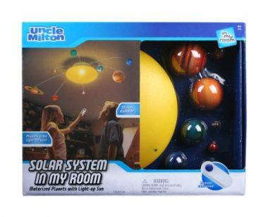 Solar System in My Room Remote Control Home Décor Night Light by Uncle Milton