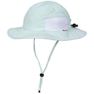 Unisex Child Wide Brim Sun Protection Adjustable Hat with UPF 50 by SwimZip