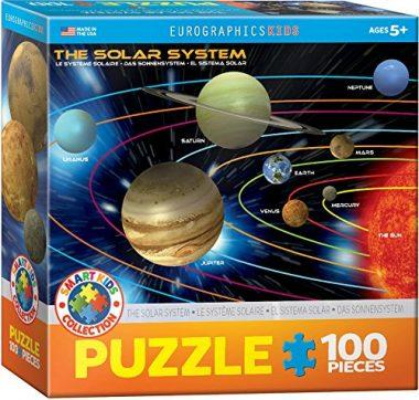 100-Piece The Solar System Jigsaw Puzzle by EuroGraphics