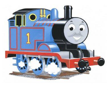 24-Piece Thomas & Friends: Thomas the Tank Engine Shaped Floor Puzzle by Ravensburger
