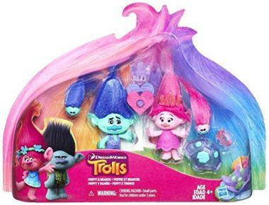 Trolls Poppy and Branch Exclusive Action Figure by Trolls