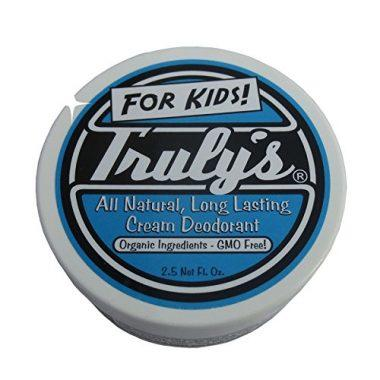 Truly's – All Natural, Long Lasting Organic Cream Deodorant