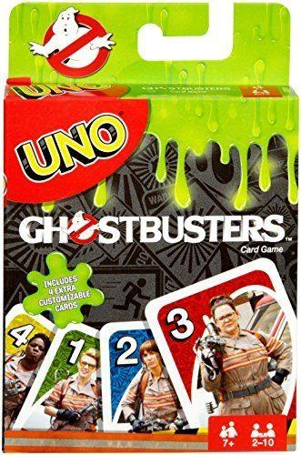 UNO Ghostbusters Edition Card Game by Mattel