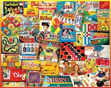 1000-Piece The Games We Played Jigsaw Puzzle by White Mountain Puzzles