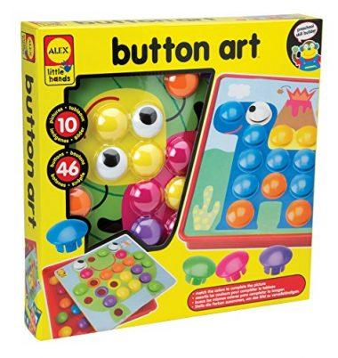 Little Hands Button Art by ALEX Toys