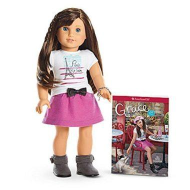American Girl Grace Doll and Paperback Book