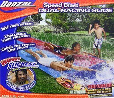 16 Foot Speed Blast Dual Racing Water Slide by Banzai