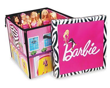 Barbie ZipBin 40 Doll Dream House Toy Box & Playmat by Neat-Oh
