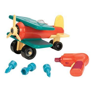 Take-A-Part Toy Vehicles Airplane by Battat