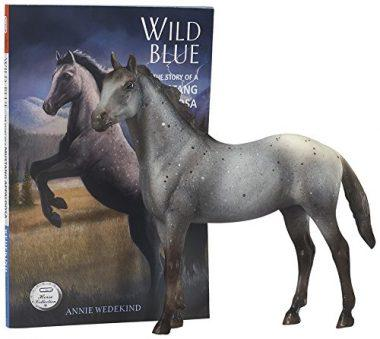 Breyer Classics Wild Blue: Book and Horse Toy Set by Breyer