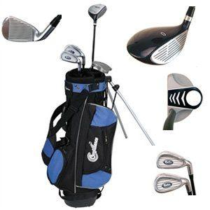 Junior Golf Club Set with Stand Bag by Confidence