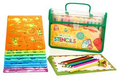 Large Drawing Stencils Art Set for Kids by Creativ' Craft