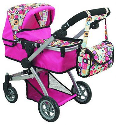 Deluxe Doll Pram by Doll Strollers Pro