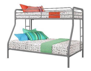 Dorel Twin over Twin Metal Bunk Bed by DHP