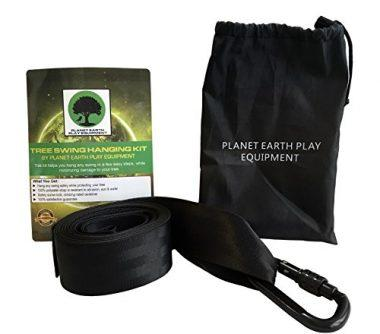 Extra-long Tree Swing Hanging Strap by Planet Earth Equipment